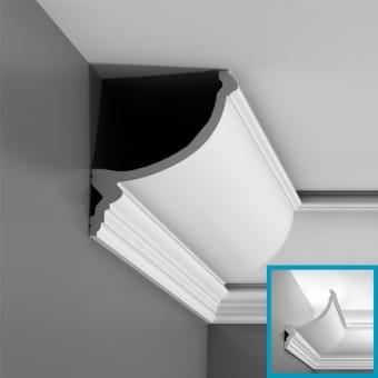C900 Lyslist Orac Decor Indirekte belysning