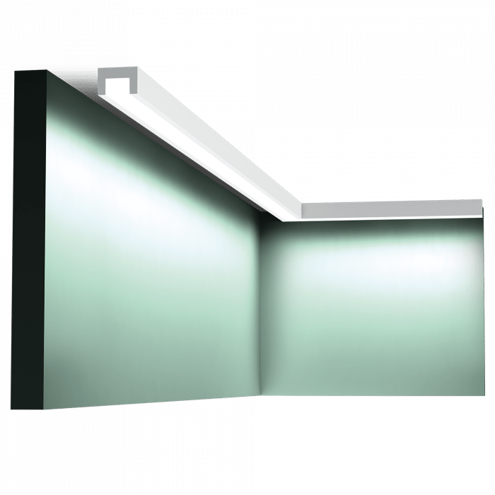 CX190 lyslist brukt som direktebelysning.